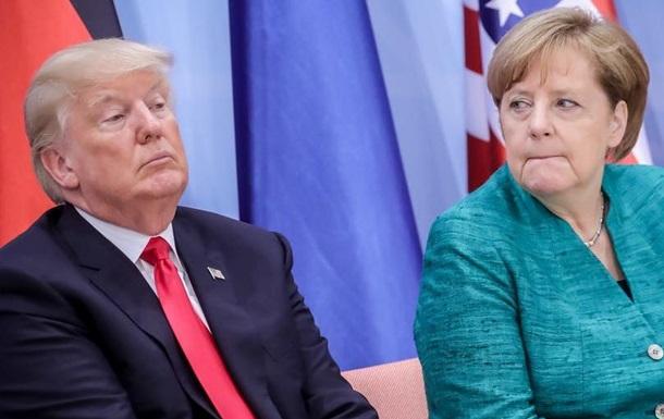 Трамп нарешті привітав Меркель з перемогою на виборах