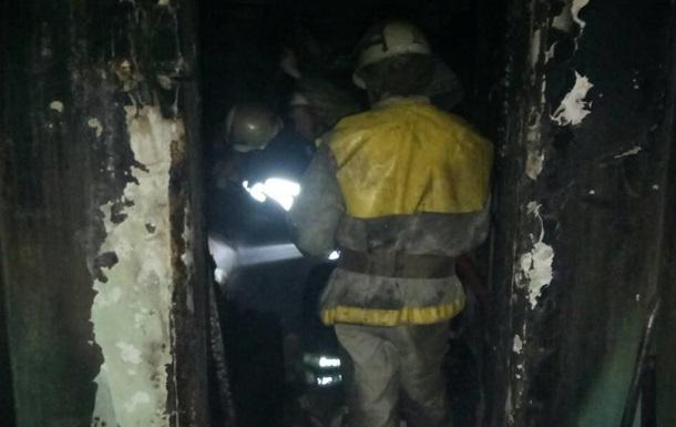 В Кривом Роге во время пожара погибла девятилетняя девочка
