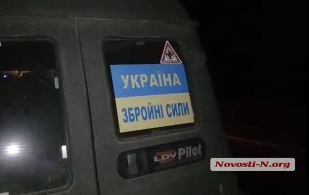 У Миколаєві поліція ганялася за військовими