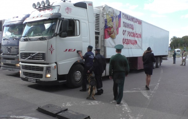 ОБСЄ: В Луганськ зайшов  гуманітарний конвой  з Росії