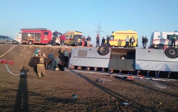 ДТП с автобусом в Крыму: 18 пострадавших