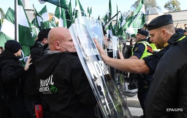 Митинг в Швеции: задержали более 60 человек