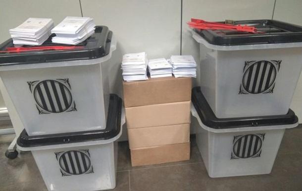 Референдум у Каталонії: поліція почала вилучати виборчі урни