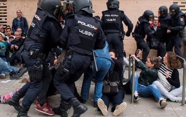 У зіткненнях у Каталонії постраждали 337 осіб
