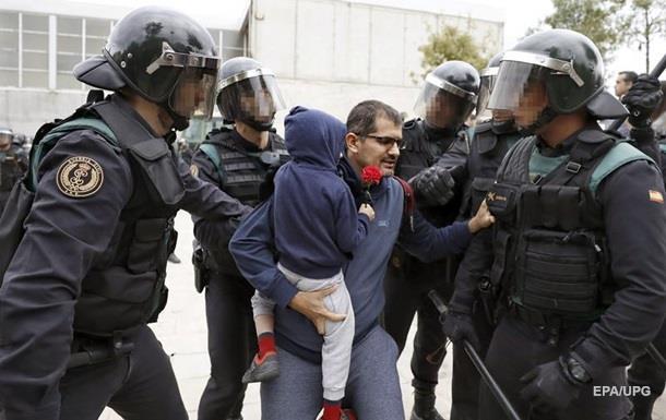Каталонія: Іспанія в судах відповість за насильство