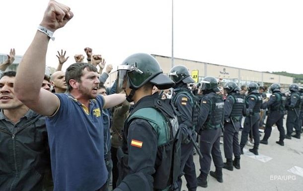 У Каталонії закінчився референдум про незалежність