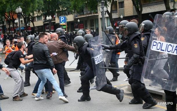 Референдум в Каталонии: более тысячи пострадавших
