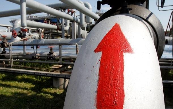 Україна збільшила транзит газу на чверть