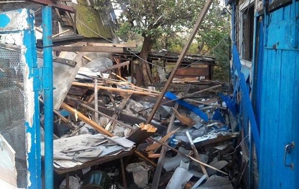 Штаб: Марьинка и Зайцево попали под обстрел