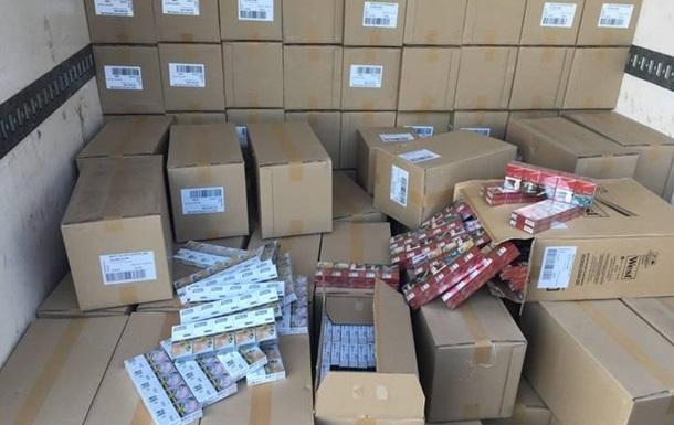 У Сумській області вилучили контрафактні сигарети на п ять мільйонів