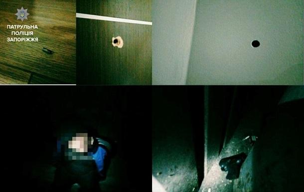 У кафе Запоріжжя п яний розстріляв туалет з жінкою всередині
