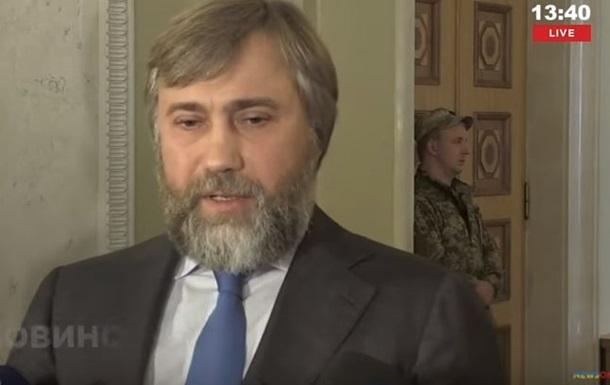 Новинский пообещал создать оппозицию внутри Оппоблока