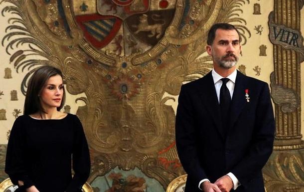 Король Іспанії не визнав референдум в Каталонії