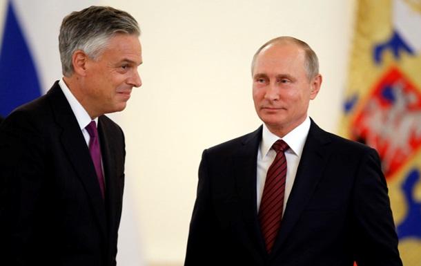 Путин недоволен отношениями России и США