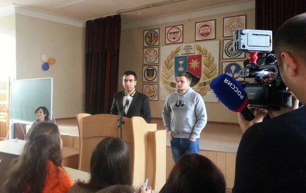 Пранкеры Вован и Лексус выступили с лекцией в ДНР