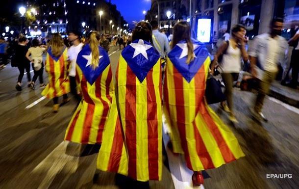 Парламент Каталонії в понеділок обговорить питання про незалежність