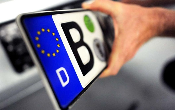 МВД собирает данные о водителях на еврономерах