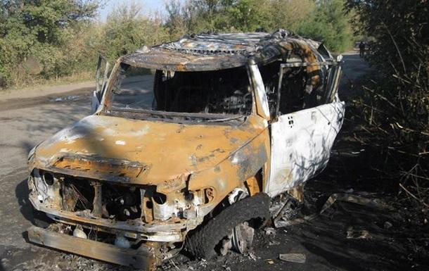 На Харківщині джип знищили із гранатомета