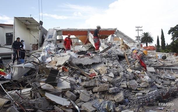 Землетрясение в Мексике: число жертв увеличилось до 369
