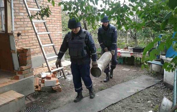 ГСЧС: В Калиновке единичная детонация боеприпасов