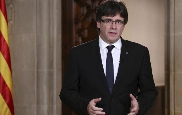 Мадрид відкидає пропозиції Каталонії щодо переговорів про незалежність
