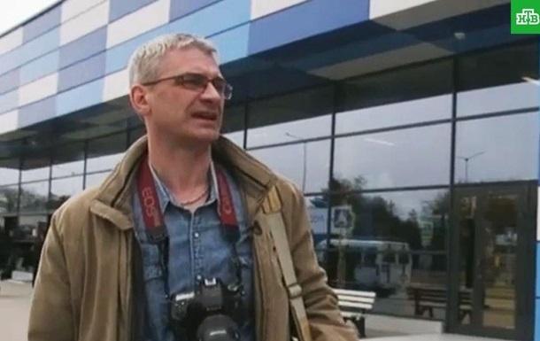 Из Украины выдворили журналиста НТВ