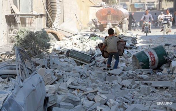 Авіаудар Росії по Сирії: 38 жертв серед мирного населення