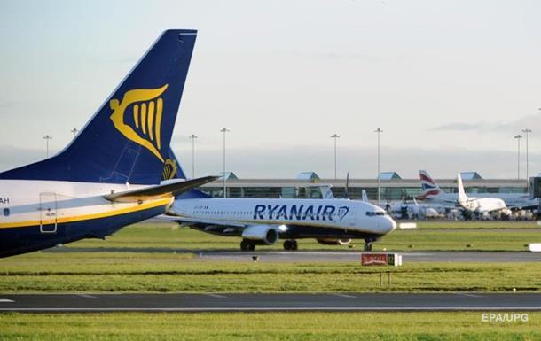 Бельгія судитиметься з Ryanair через скасовані рейси