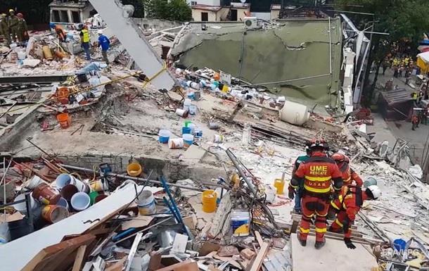У столиці Мексики можуть знести тисячу будівель після землетрусу