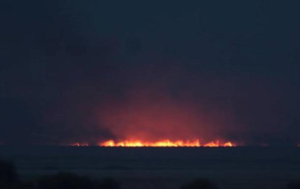 На Одесчине загорелся национальный парк
