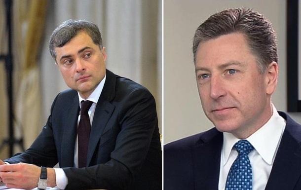 Волкер и Сурков обсудили перемирие в Украине