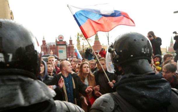 Акції на підтримку Навального в РФ: понад 130 затриманих