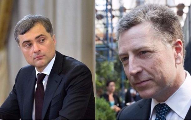 Сурков розповів про переговори з Волкером