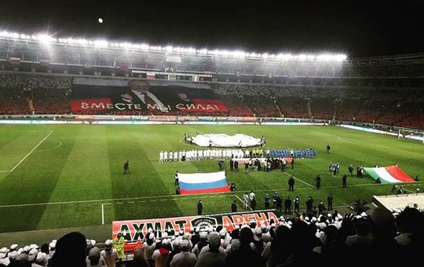 Кадыров посвятил юбилею Путина футбольный матч