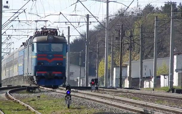 На ходу загорівся поїзд  Миколаїв-Київ