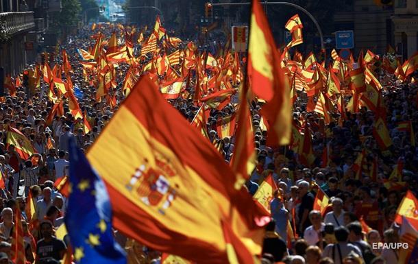 У Каталонії протестують проти незалежності