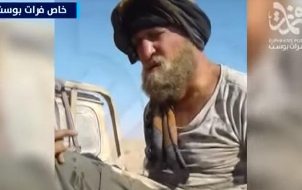 Опубліковано відео захоплення російських військових бойовиками ІД