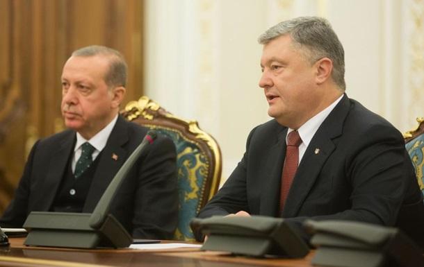 Порошенко рассказал о новых авиа и паромных маршрутах в Турцию