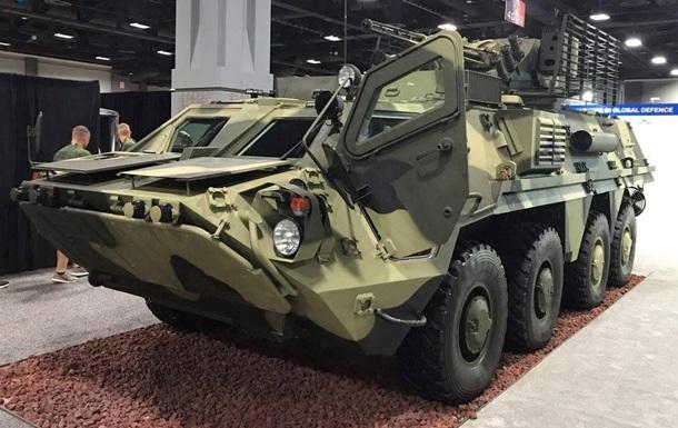 Украина впервые привезла в США свое вооружение