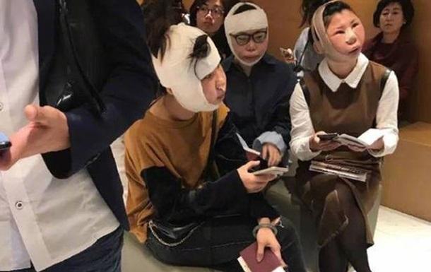 Китаянки не змогли вилетіти з аеропорту через пластичні операції