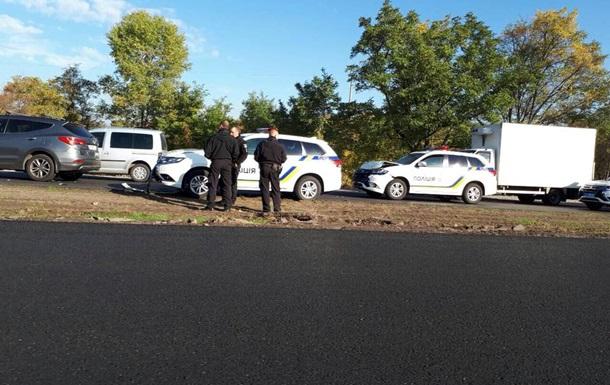 В Запорожье столкнулись два автомобиля полиции