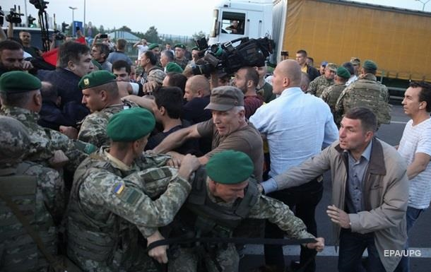 У СМИ требуют материалы о прорыве Саакашвили