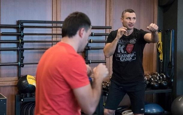 Кличко показал тренировку, проданную за 150 тысяч