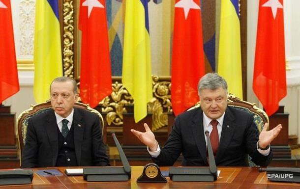 Эрдоган уснул. Визит президента Турции к Порошенко