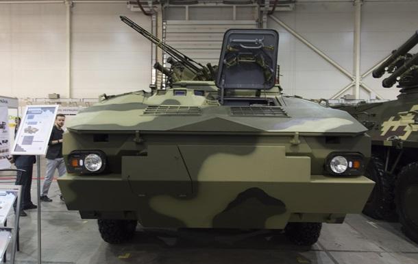 В Киеве на выставке показали новый БТР
