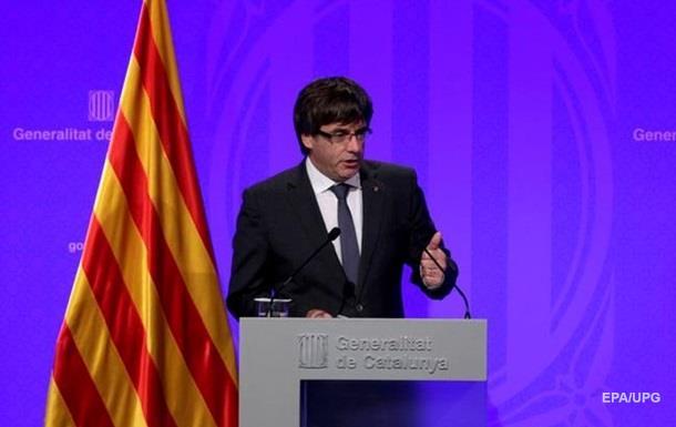 Каталония отложила объявление независимости