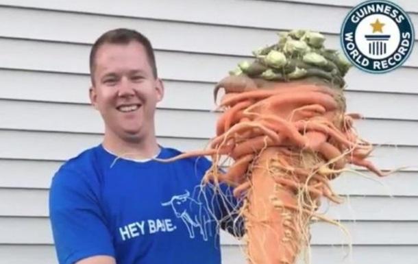 У США виросла найбільша в світі морква