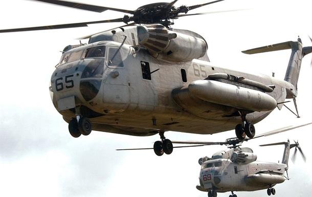 У Японії розбився військовий вертоліт США