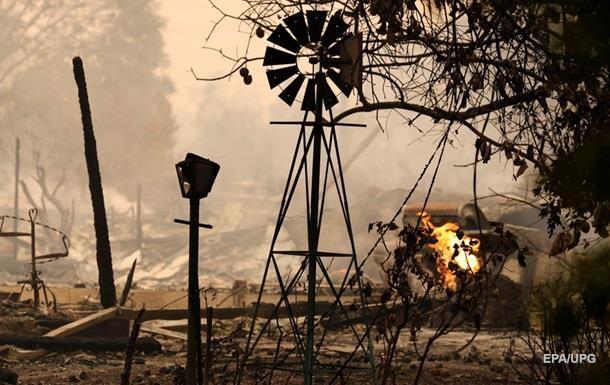 Пожежі в Каліфорнії: кількість жертв зросла до 21