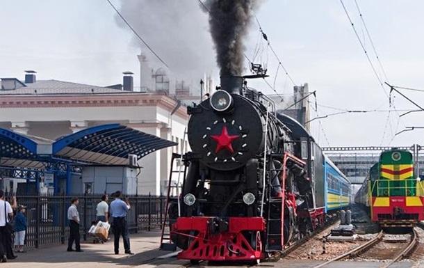 В Киеве ко Дню защитника Украины запустят ретро-поезд